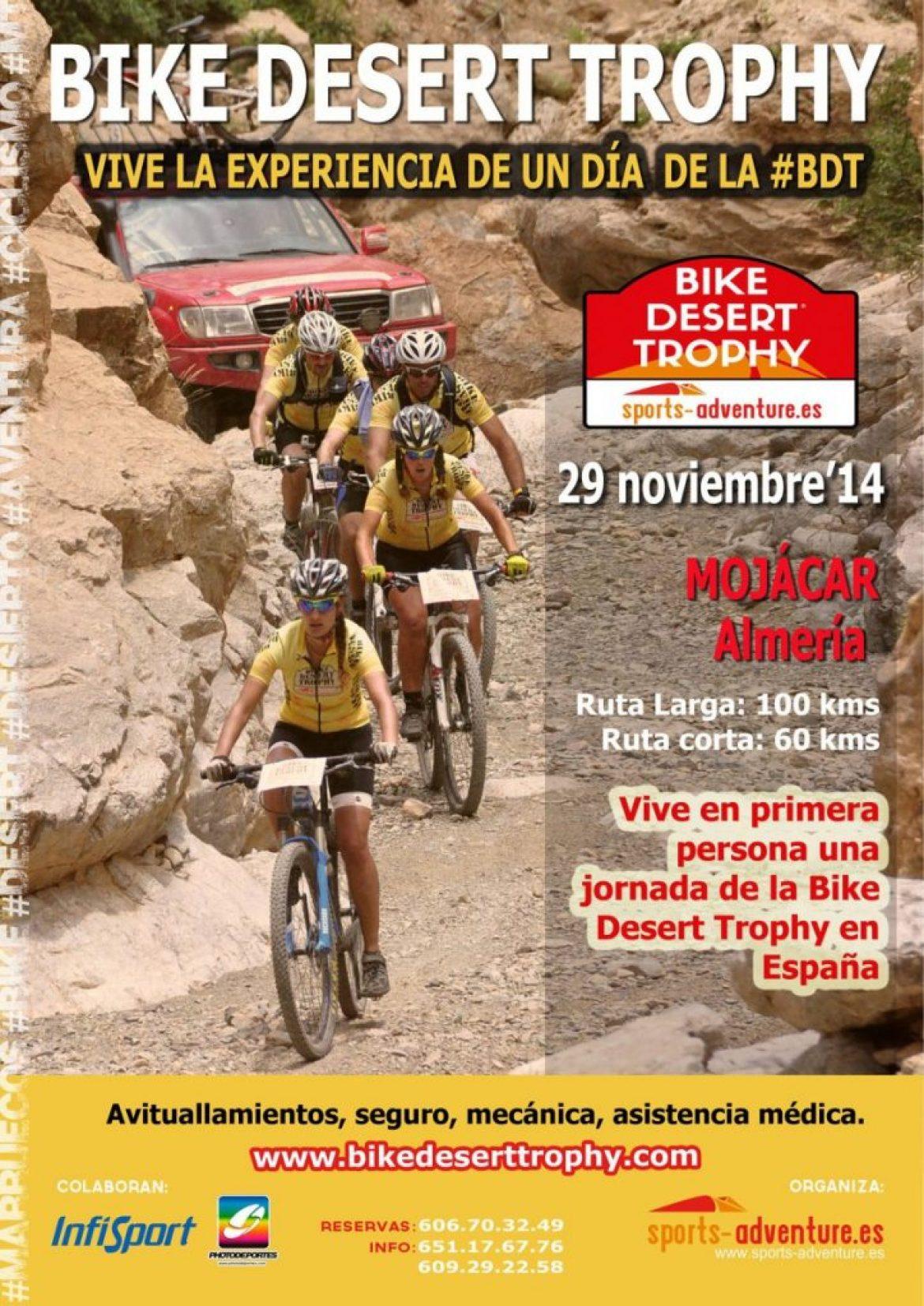 Vive una jornada de la Bike Desert Trophy en Mojácar